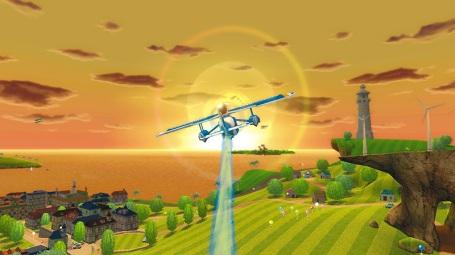 Esto es lo más parecido a un Pilot Wings que verás en Wii, pringao